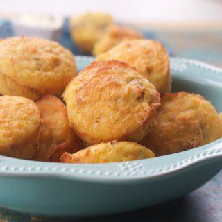 Sausage Corn Muffins, Gluten Free Option
