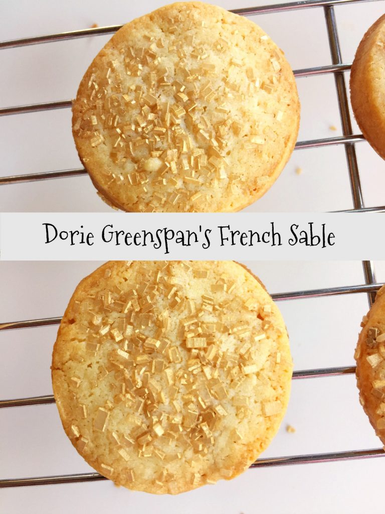Christmas Cookies: French Sable from Spinach Tiger