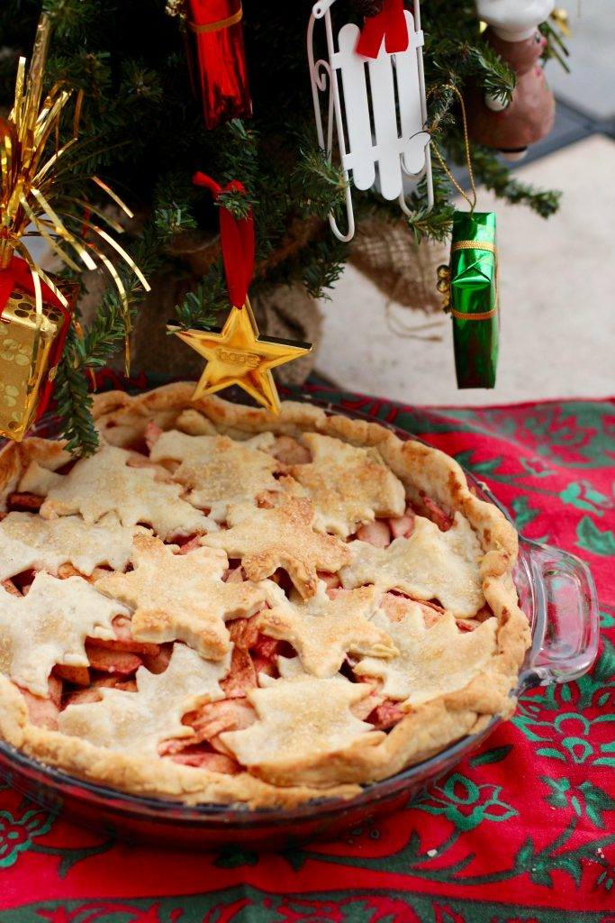 Christmas Cookies: Christmas Apple Pie from Spinach Tiger