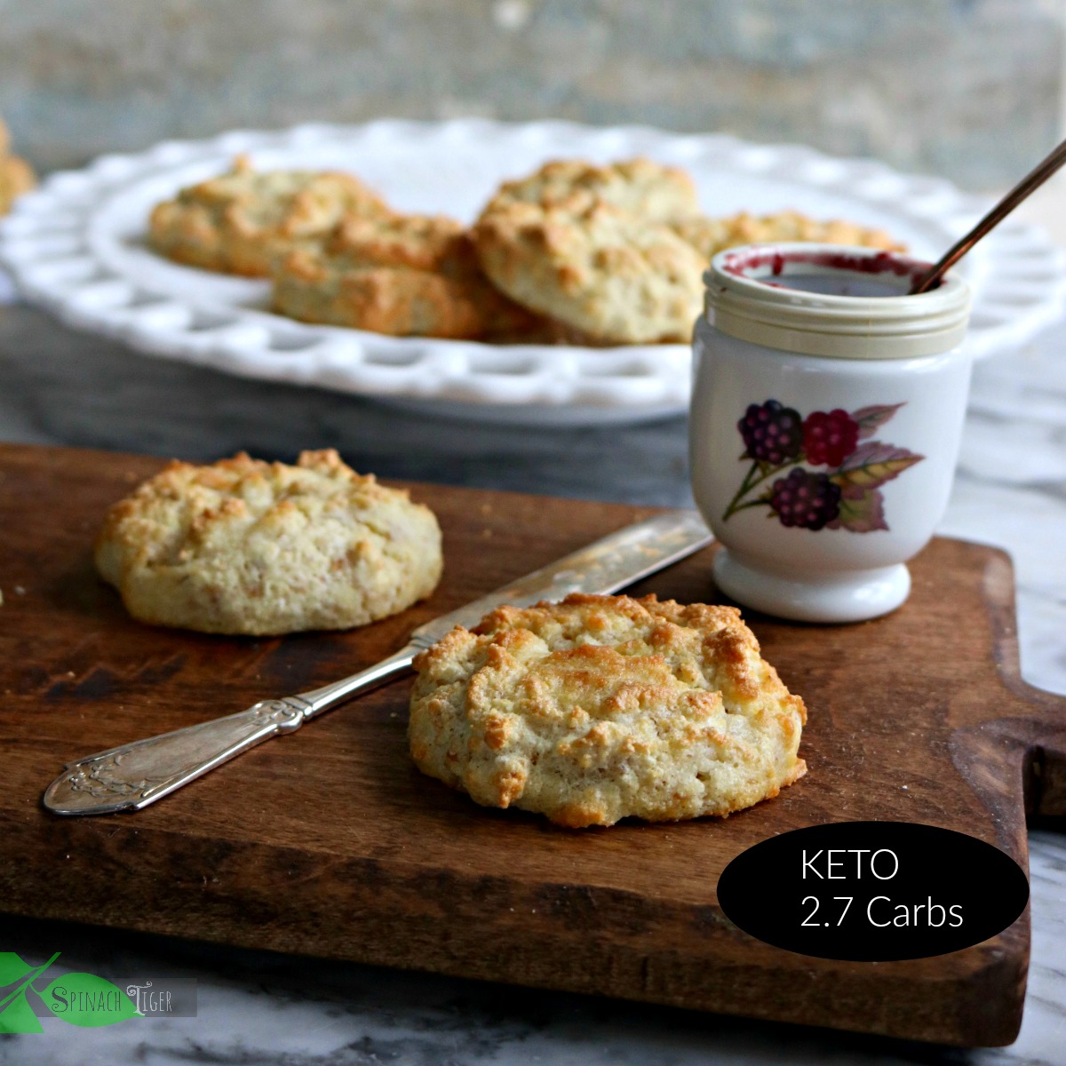 Gluten Free Baking: Grain Free Biscuits