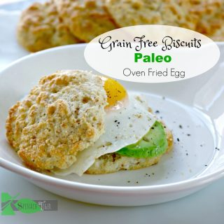 Grain Free Biscuits, Low Carb, Keto, Dairy Free
