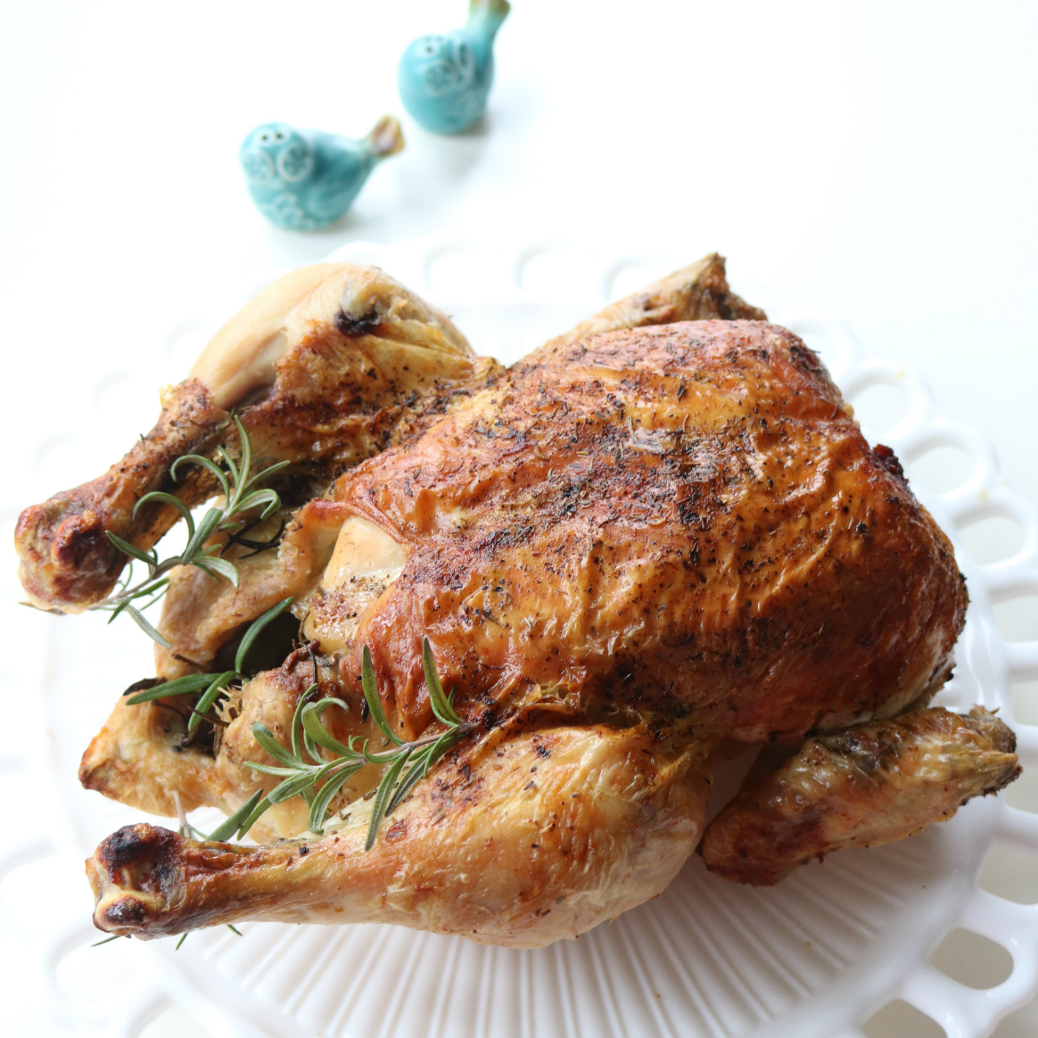 Easy Fast Dinner Recipes: Roast Chicken from Spinach Tiger