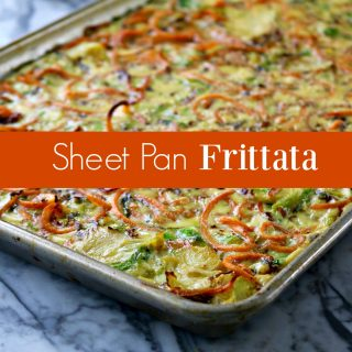 How to Make a Sheet Pan Frittata
