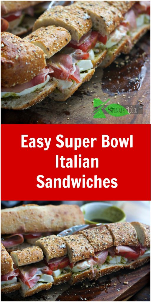 Why You Should Make your Own Big Fat Party Sandwiches from Spinach TIger