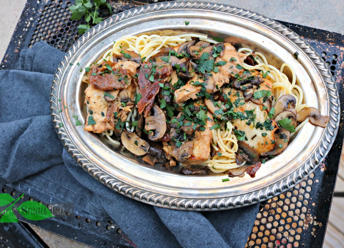 Best Italian Chicken Marsala with Mushrooms Recipe from Spinach Tiger