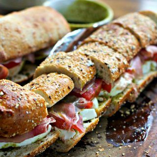 Big Fat Party Sandwiches and Appetizers Using Prosciutto