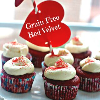 Sugar Free Red Velvet Cupcakes, Keto Friendly, Low Carb