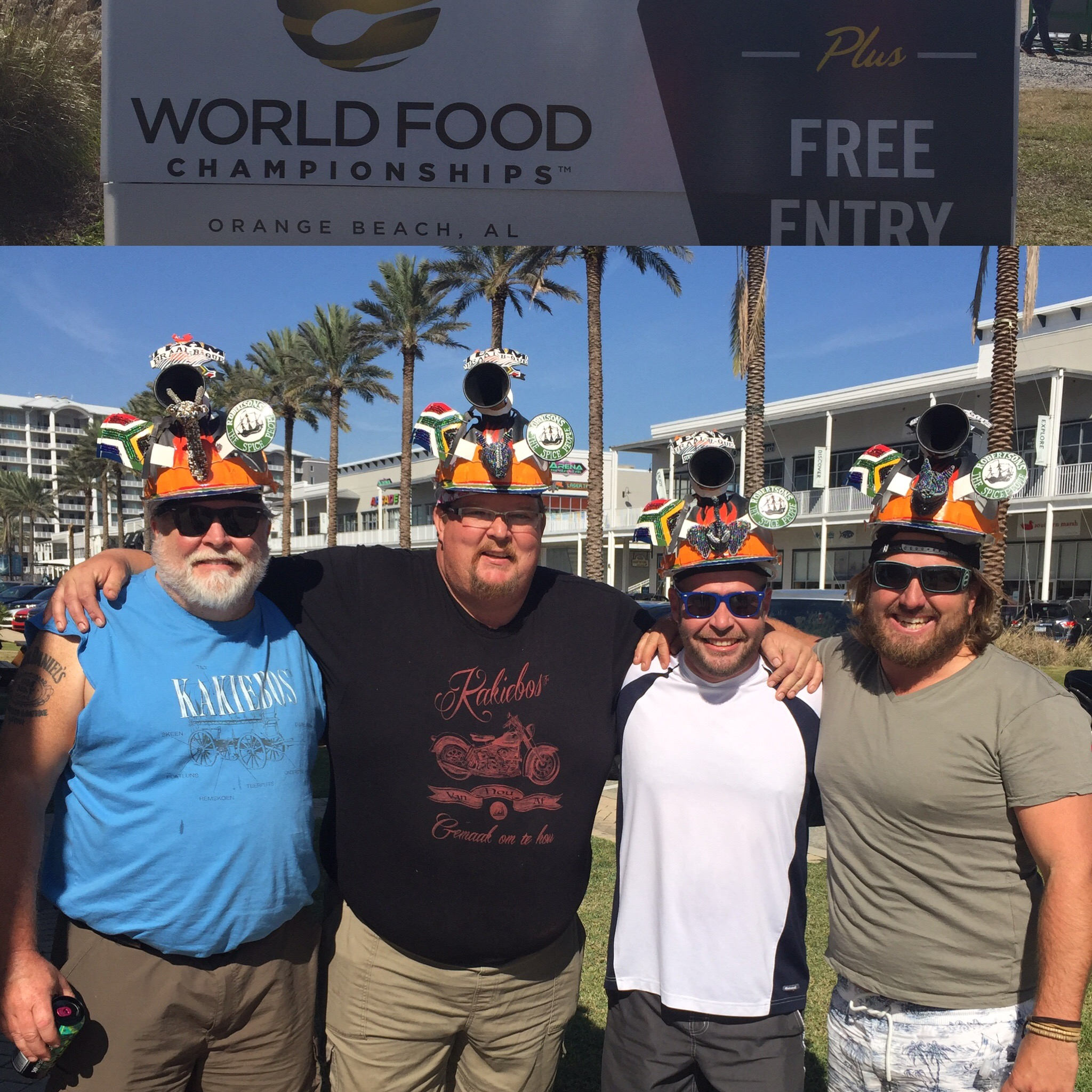 Competitors at World Food Championships