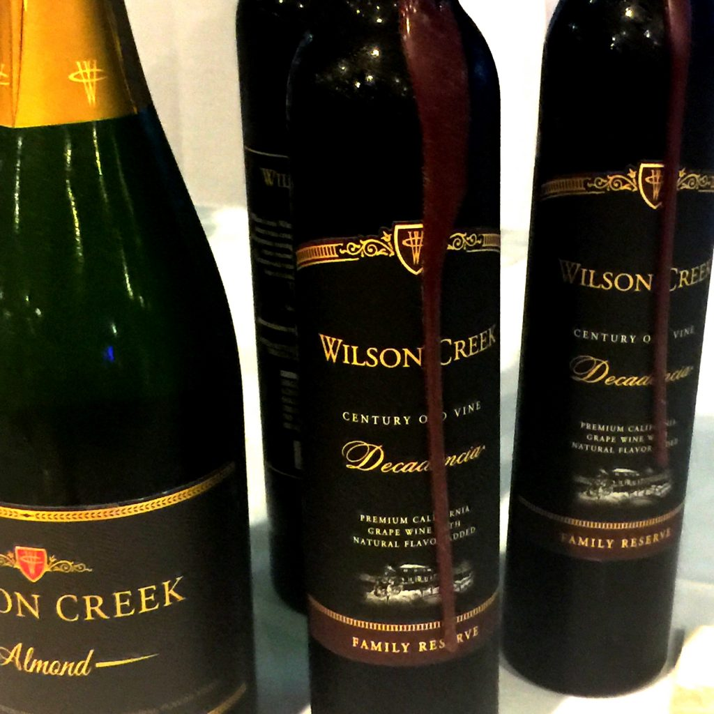 Wilson Creek Wine from Spinach TIger