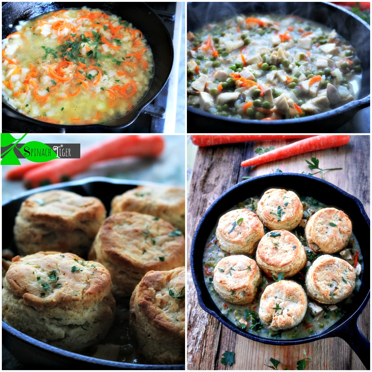 How to Make Chicken Pot Pie with Biscuits, Gluten Free