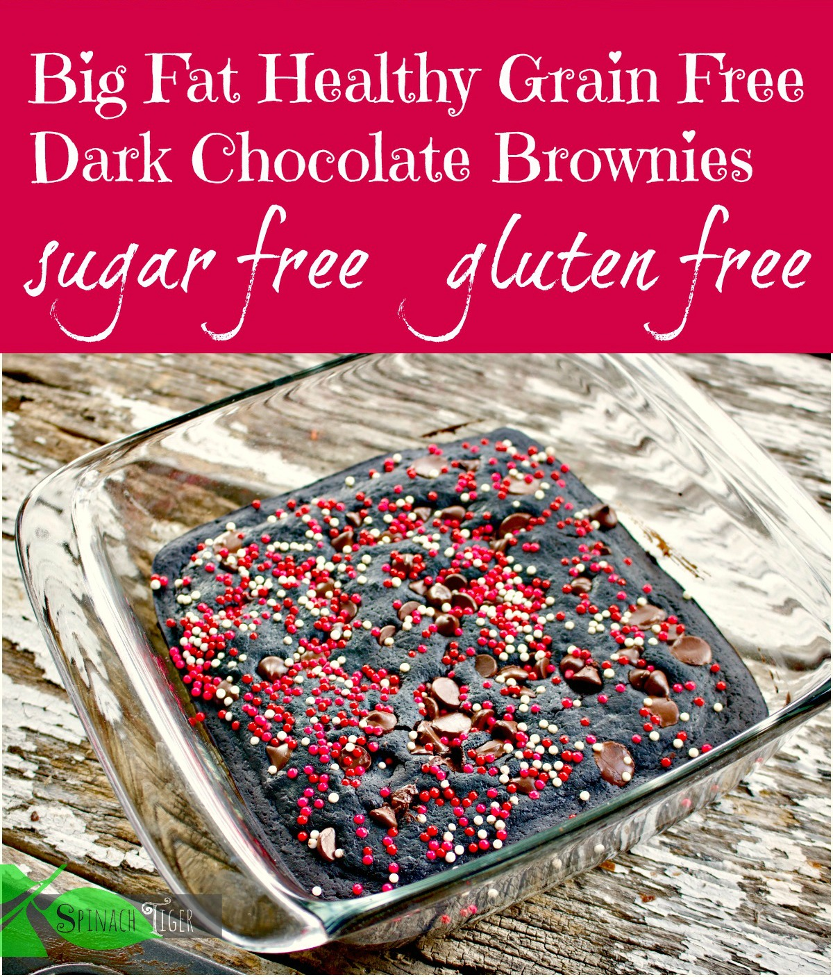 Grain Free Diabetic Brownies from Spinach TIger