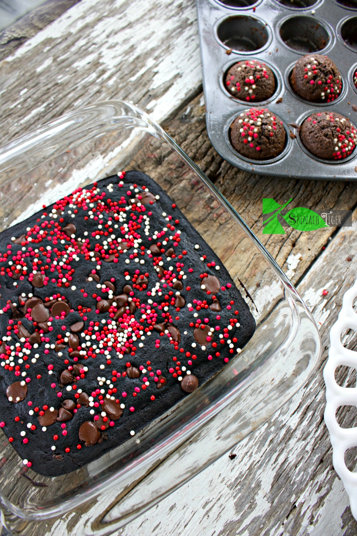 How to Make Dark Chocolate Diabetic Brownies from Spinach Tiger