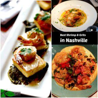 Favorite Nashville Restaurants for Shrimp & Grits