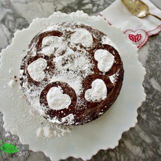 Torta Caprese, Italian Chocolate Almond Flour Cake, Grain Free
