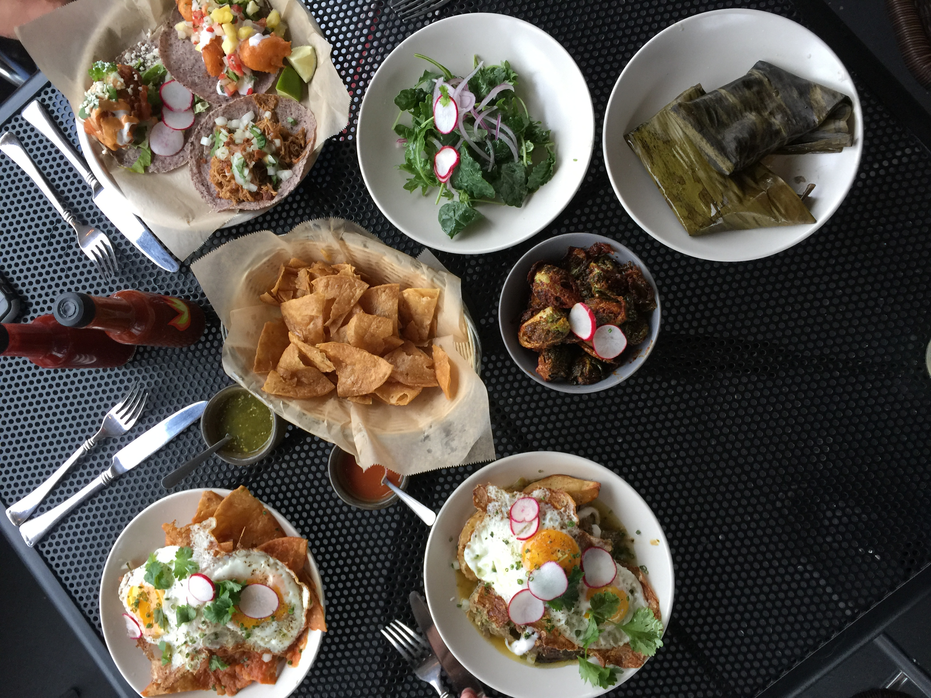 Brunch at Bajo Sexto Taco Lounge from Spinach Tiger
