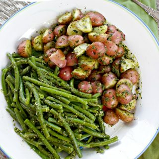 Authentic Pesto Recipe for Italian Potato Salad and More