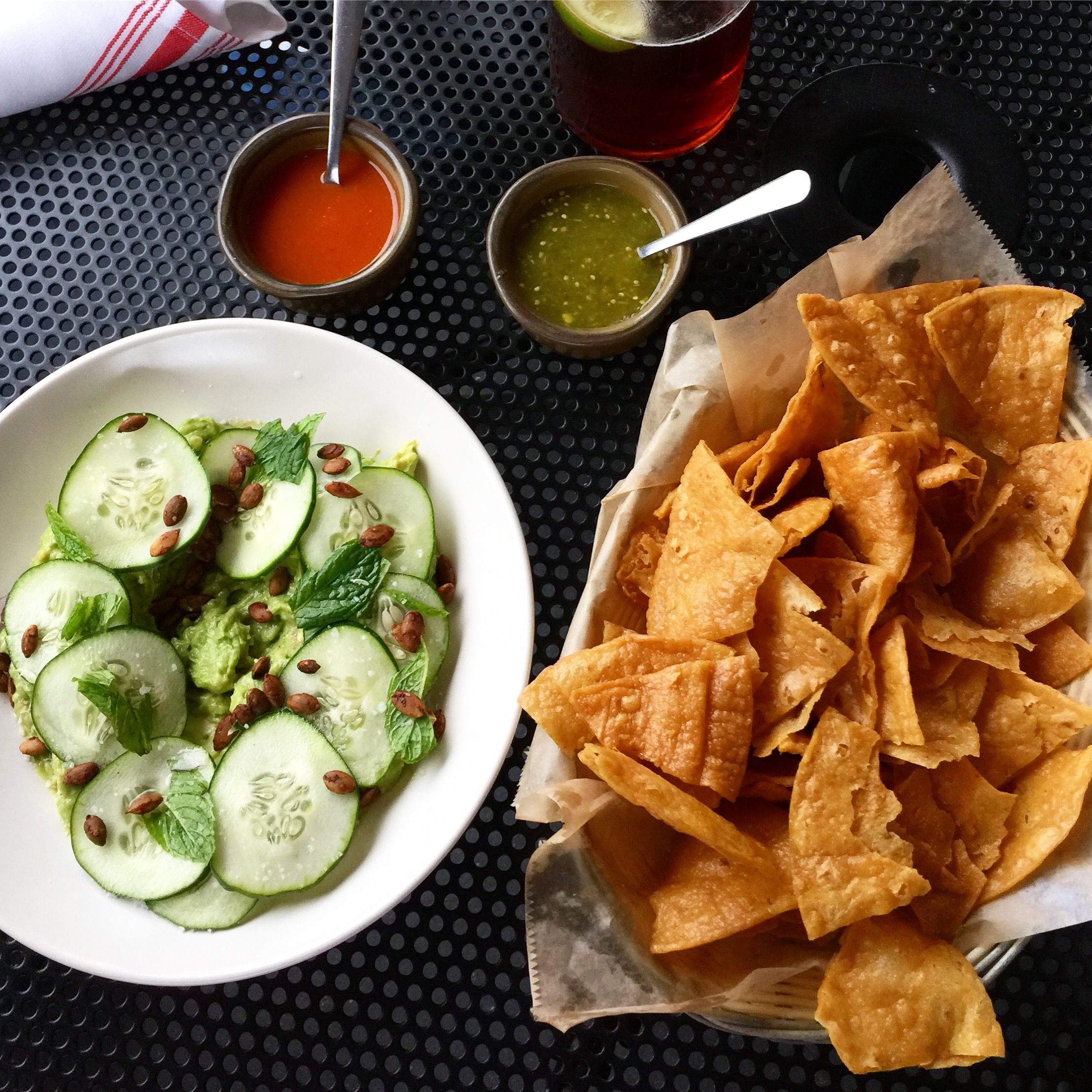 Guacamole at Bajo Sexto Taco Lounge from Spinach Tiger