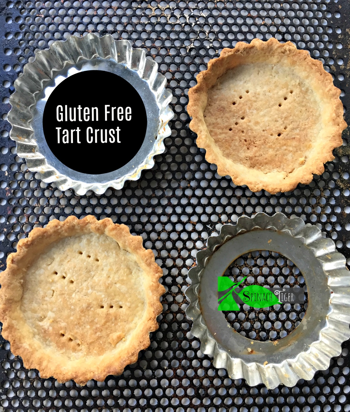 America's Test Kitchen Gluten Free Tart Crust Recipe from Spinach Tiger