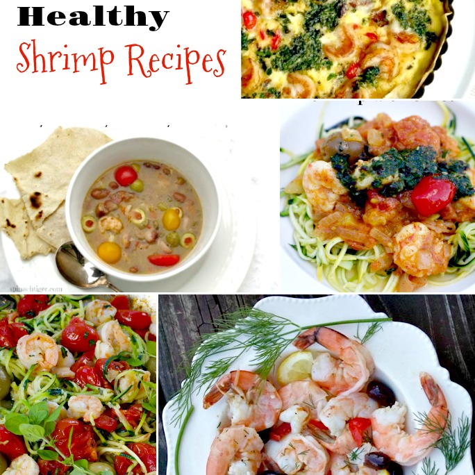 Big Fat Healthy Shrimp Recipes from Spinach Tiger