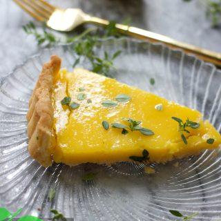 Lemon Tart Recipe, Gluten Free Option