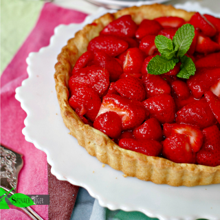 Easy Strawberry Pie Recipe, Gluten Free Option
