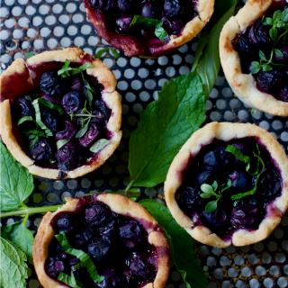 Berry Mini Fruit Pie Recipes in Muffin Tins, the Perfect July 4th Party Dessert