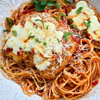 Chicken Parmesan, Old School Italian Dinner with Gluten Free Option