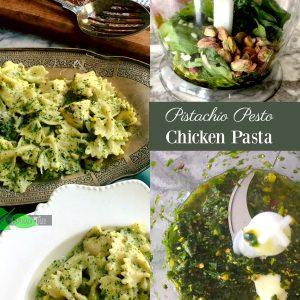 Healthy Chicken Pasta with Creamy Pesto