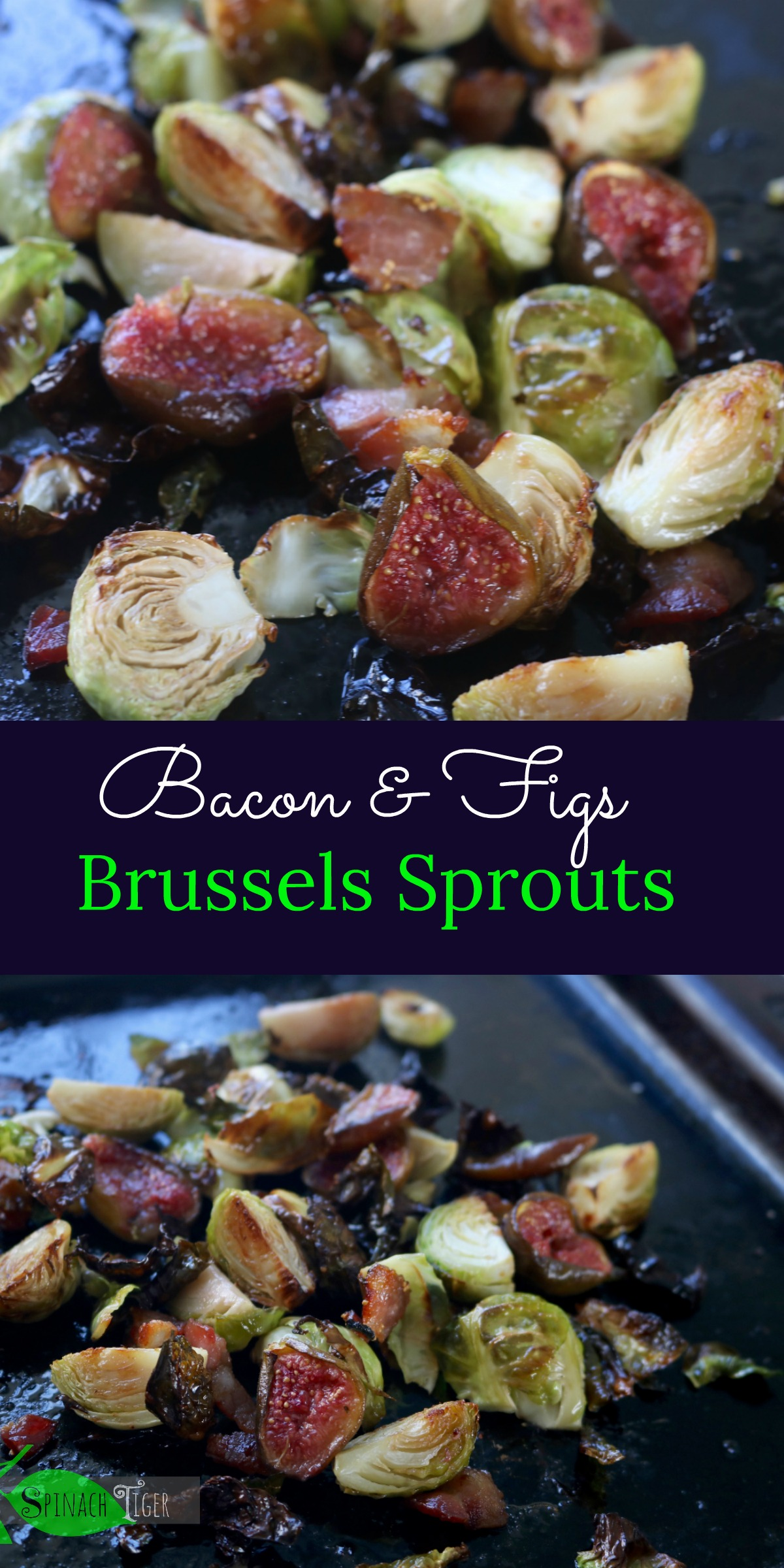 Tasty Brussels Sprouts Bacon Recipe from Spinach Tiger