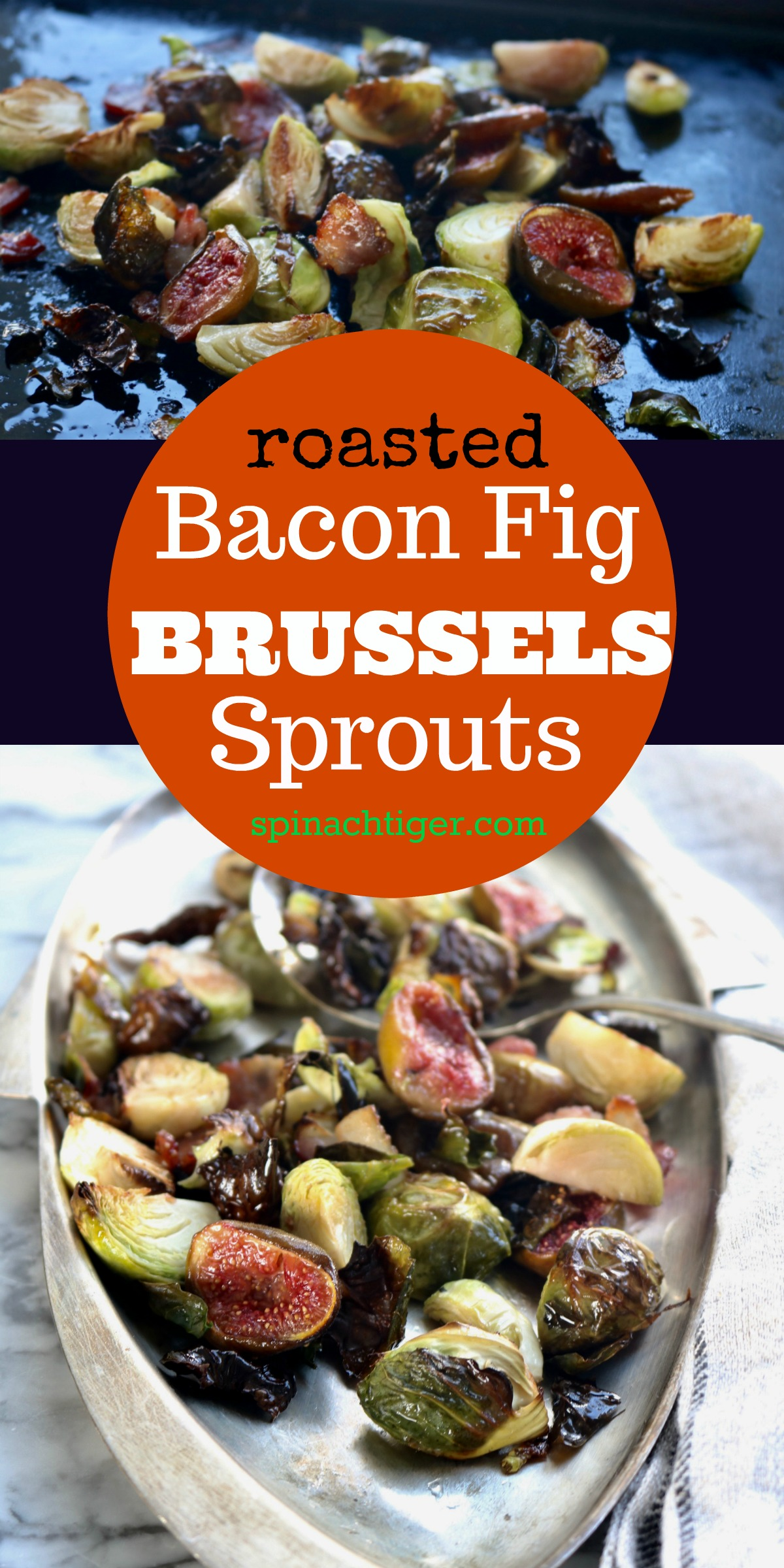 Brussels Sprouts Bacon Recipe from Spinach Tiger