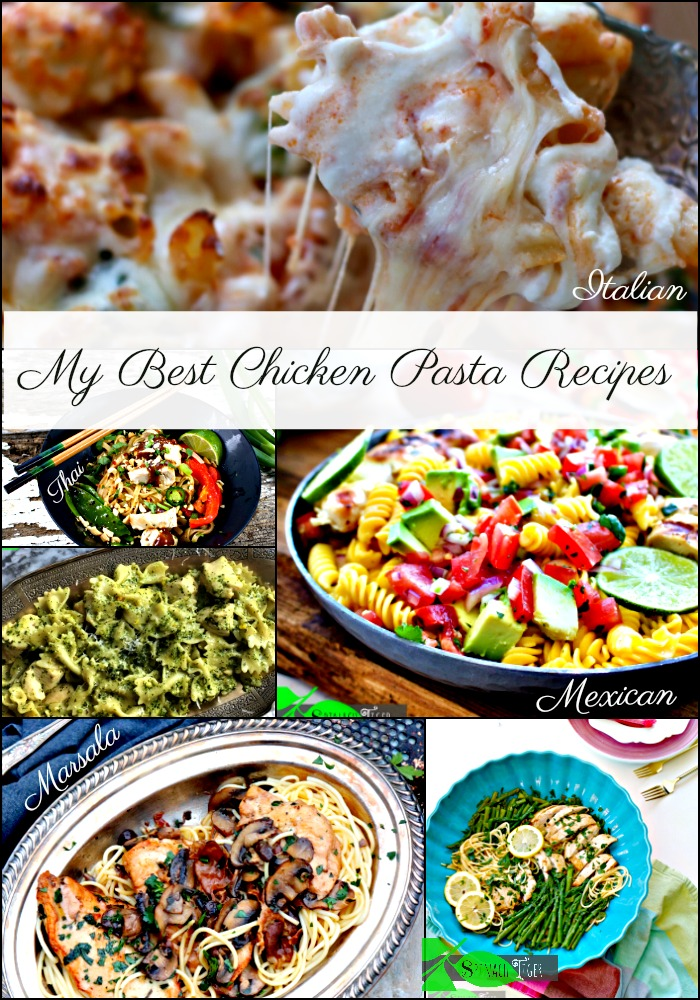 My Best Healthy Chicken Pasta Recipes from Spinach Tiger