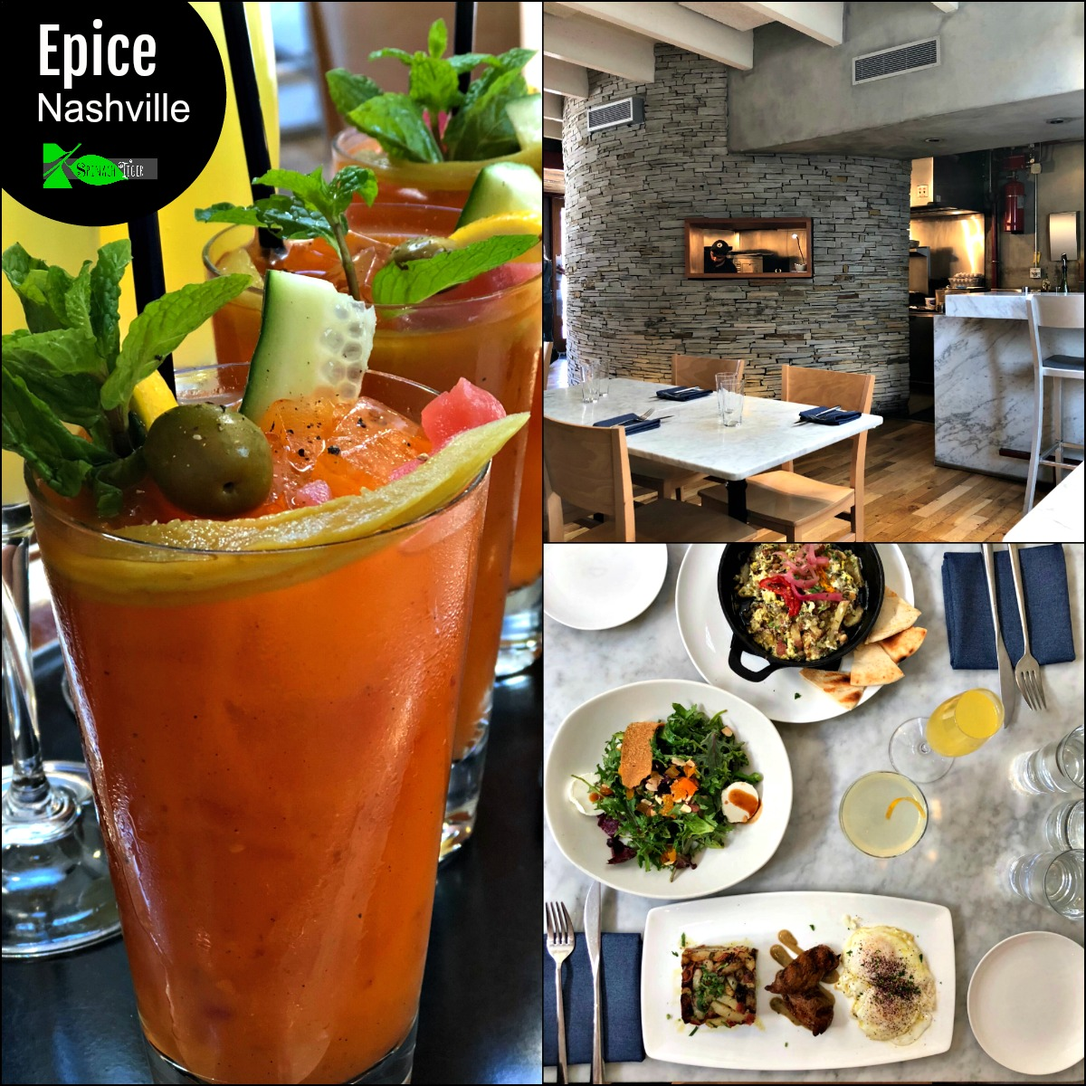 Nashville Brunch: Epice from Spinach Tiger