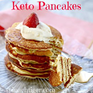 Fluffy Pancakes, Low Carb