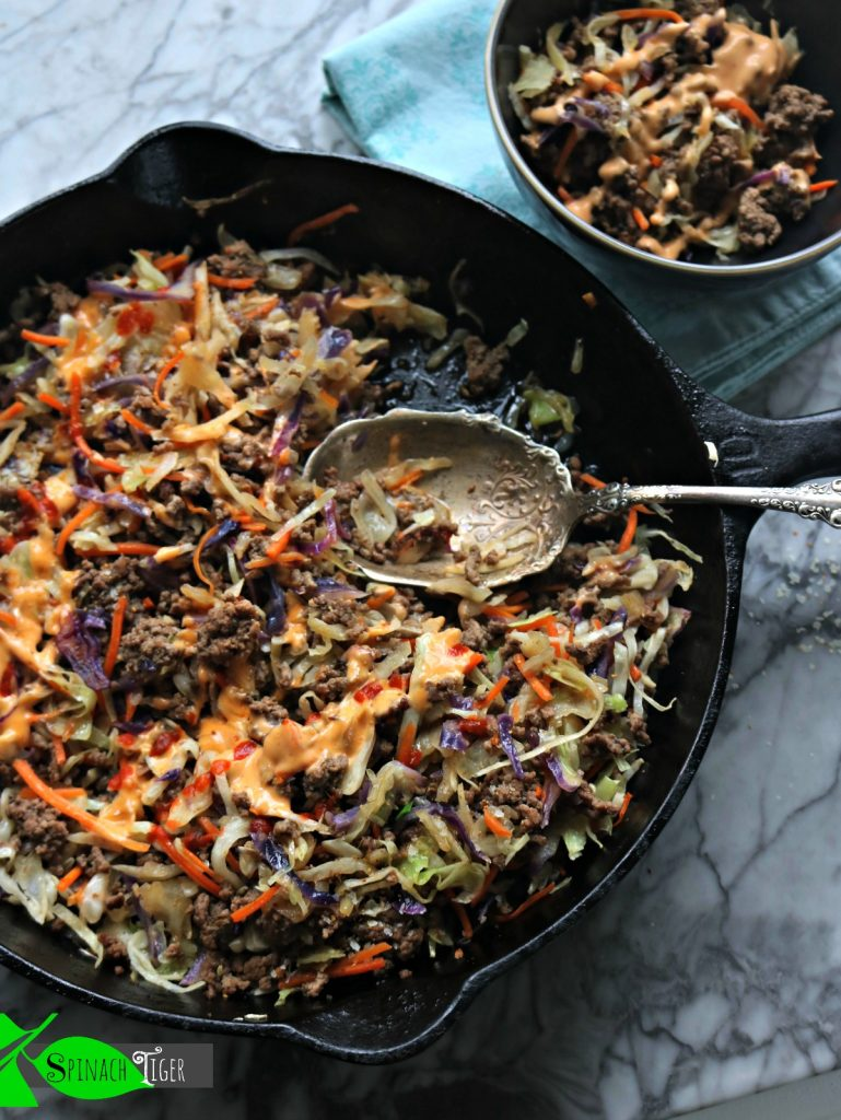 How to Make Crack Slaw with Easy Comeback Sauce from Spinach Tiger