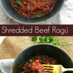 slow cooker shredded beef ragu from spinach tiger