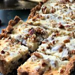 Maple Pecan Cheesecake Bars