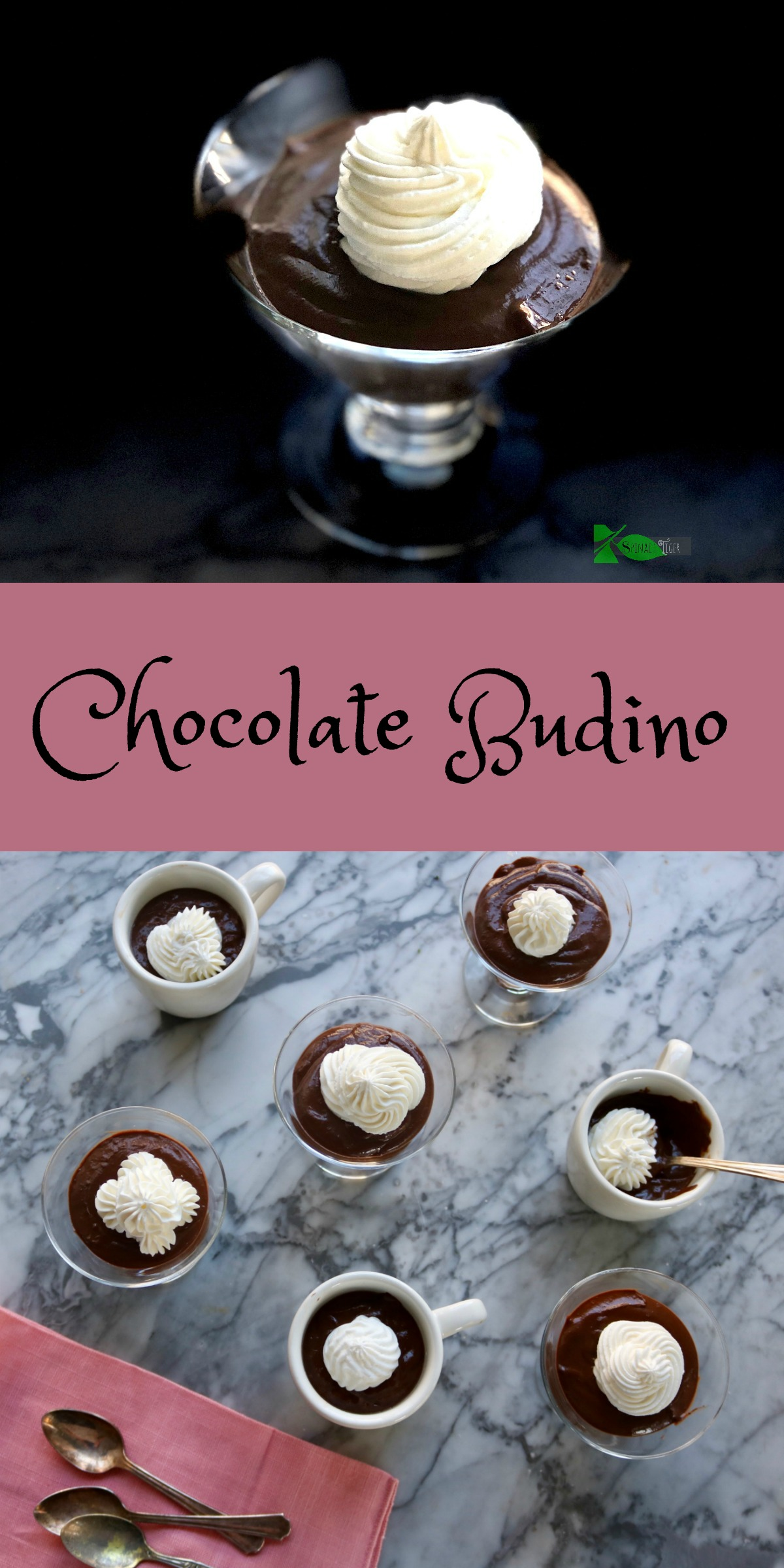Sugar Free Chocolate Budino Recipe from Spinach Tiger