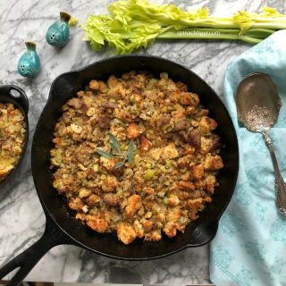 Grain Free Stuffing, Paleo, Keto Friendly