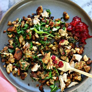 Turkey Stuffing Hash, The Best Leftovers Brunch