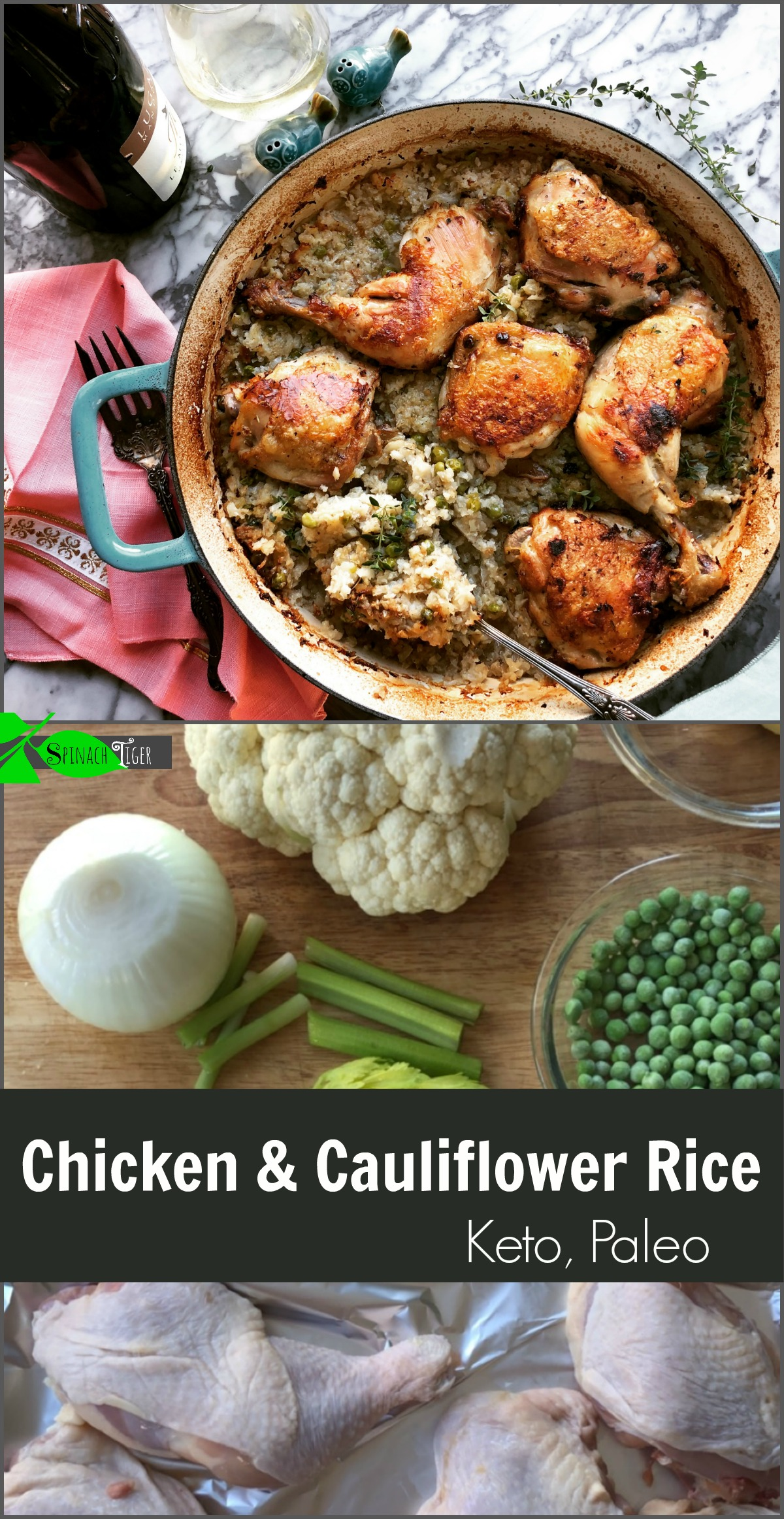 Cauliflower Rice and Chicken: How to Make Cauliflower Rice