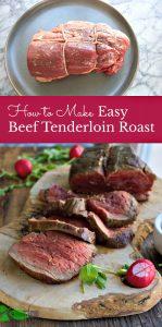 Preparing Beef Tenderloin
