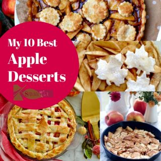 My Best Apple Desserts with Decorative Pie Crusts