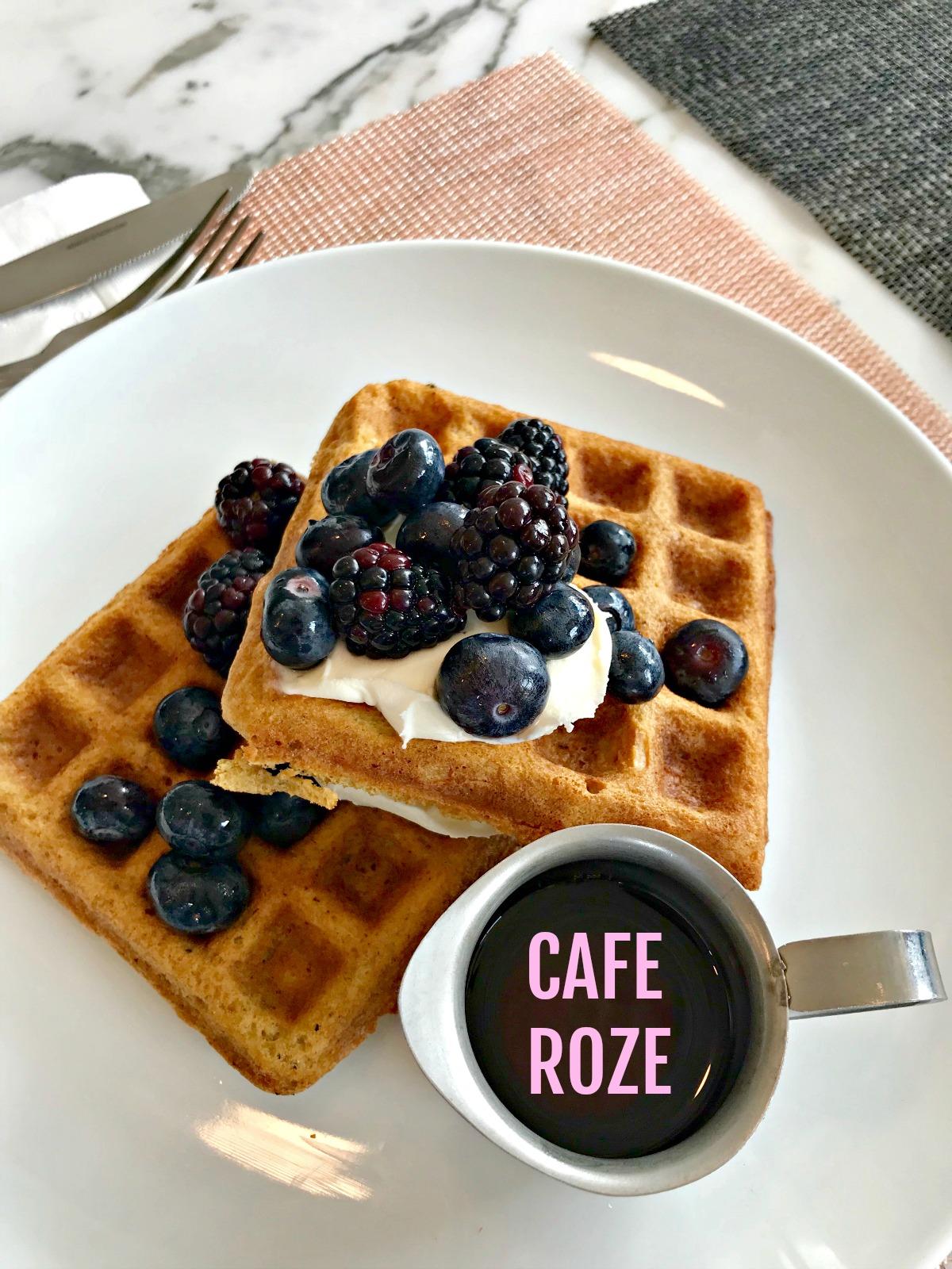 Cafe Roze Waffles