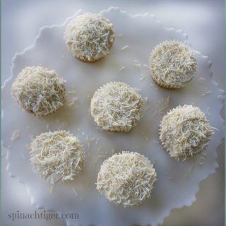 Grain Free Coconut Cupcakes, Sugar Free, Keto Friendly
