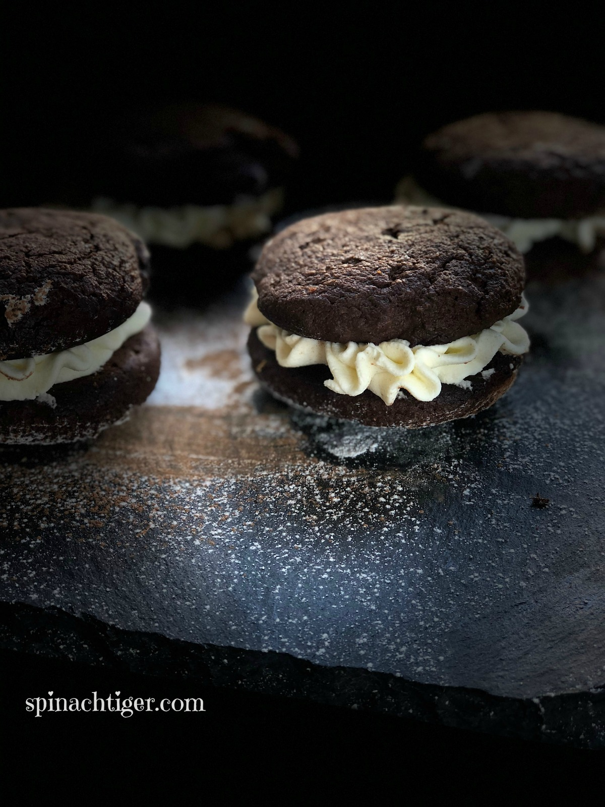 Grain Free Chocolate Whoopie Pie