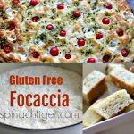 Gluten Free Focaccia from Spinach Tiger