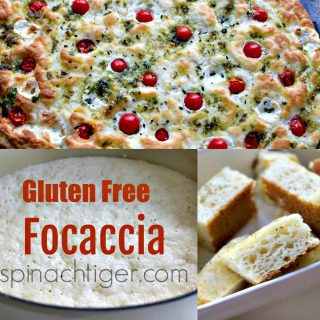 Disappearing Gluten Free Focaccia Recipe with Rosemary
