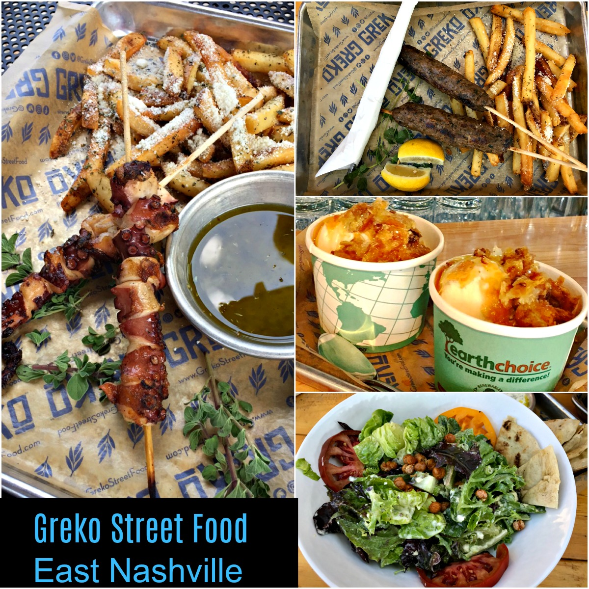 Nashville Restaurants: Greko Street Food