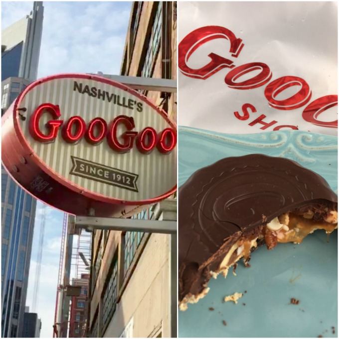 Crushing on Nashville: Goo Goo Clusters