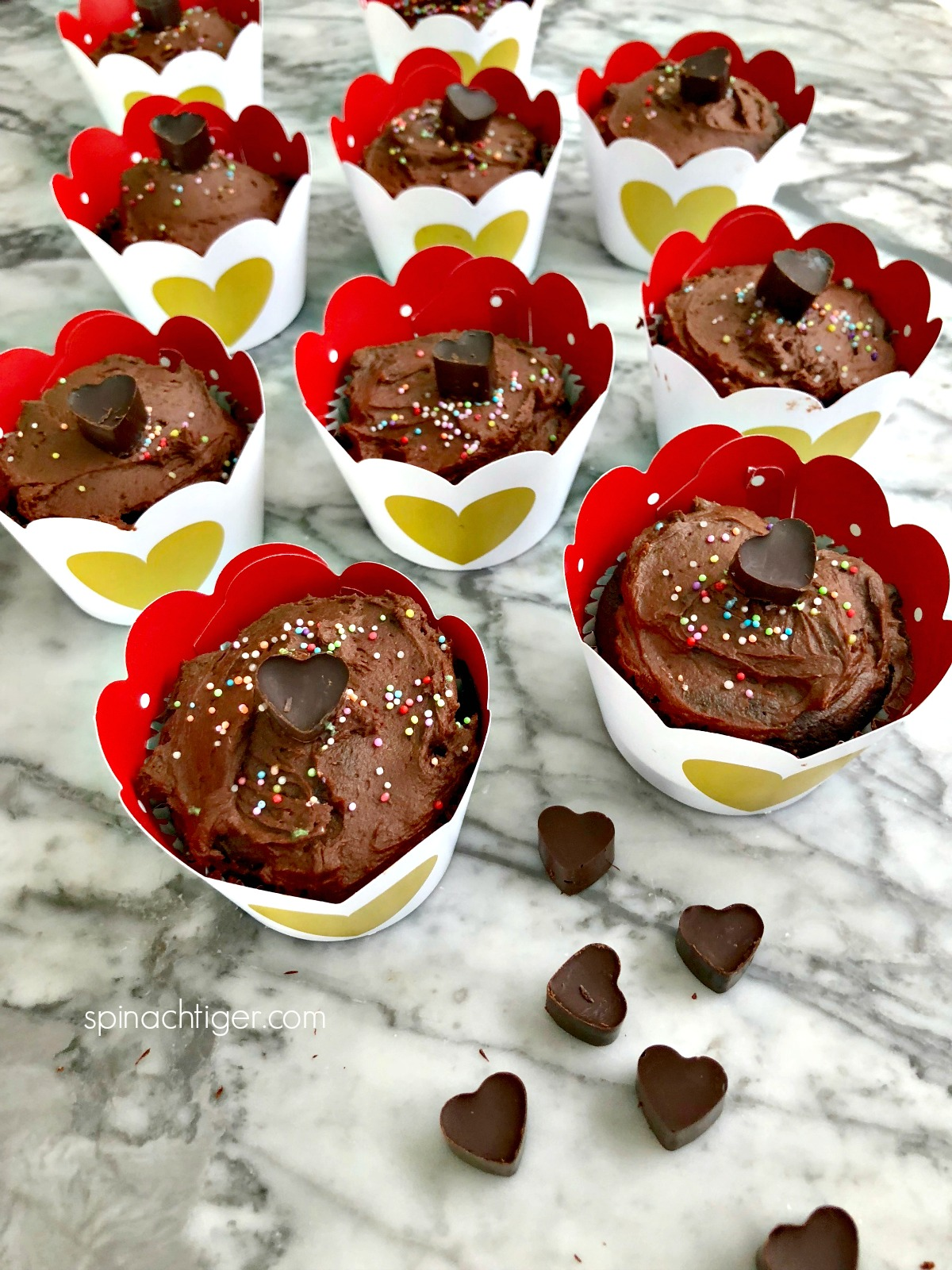 Chocolate Low Carb Cupcake Recipe from Spinach Tiger
